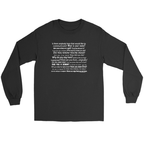 You Are the EVP Master with this Long Sleeved Tee