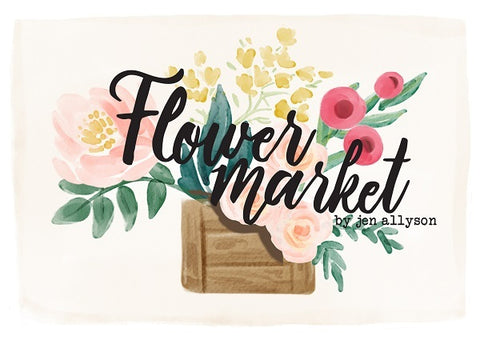 Carta Bella - Flower Market