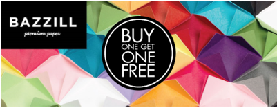 Bazzill Paper BOGO SALE!! Buy one sheet of cardstock, get one free!