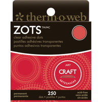 Zots Clear Craft Adhesive Dots