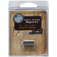 Bottle Cap Inc Vintage Magnets .5 Inch 12/Pkg