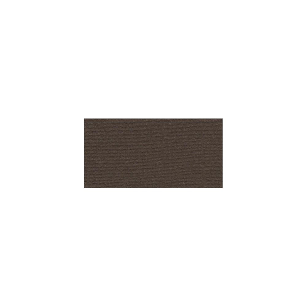 "Bazzill Mono Cardstock 12""X12"" - Brown/Canvas"