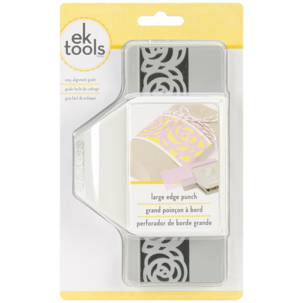 "EK Tools - Large Edge Punch - Rose Chain, 1.25""X2.5"""