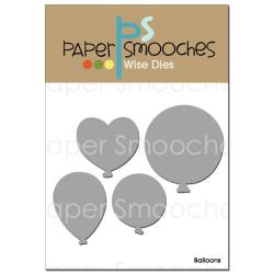 Paper Smooches - Balloons Die