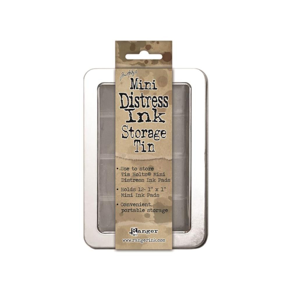 Tim Holtz Mini Distress Ink Storage Tin ( holds 12 )
