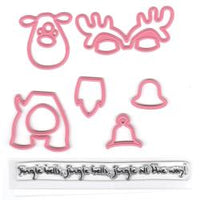 Marianne Design Collectables Dies W/Stamps - Eline's Reindeer