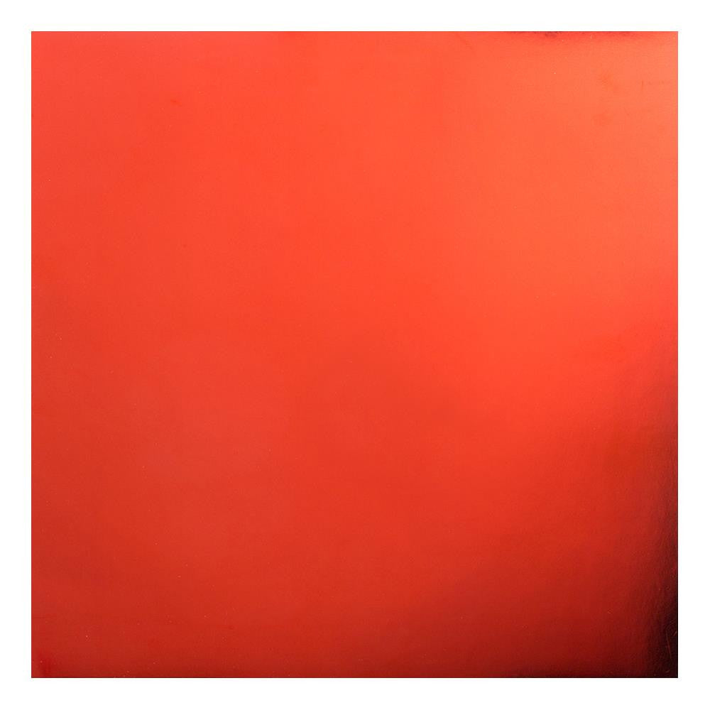 "Red Bazzill Foil Cardstock 12""X12"""