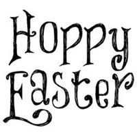 Gourmet Rubber Stamps Cling Stamps - Hoppy Easter