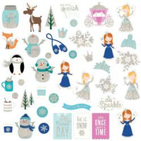 Winter Wonderland Chips Die Cut Embellishments