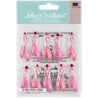 Jolee's Cabochon Dimensional Repeat Stickers - Ballerina Slippers
