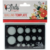 Quilling Template