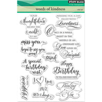 Penny Black Clear Stamps - Words Of Kindness