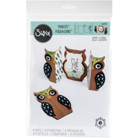 Sizzix-Owl Fold-A-Long Card
