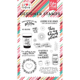Echo Park Stamps - Just Add Glitter