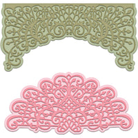 Decorative Medallion Die - HCD1-7144 Heartfelt Creations