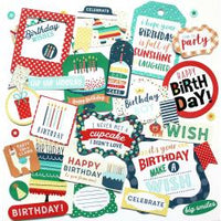 Happy Birthday Boy - Ephemera Pack