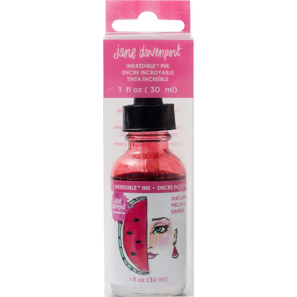 Jane Davenport Mixed Media 2 INKredible Scented Ink 30ml - Watermelon