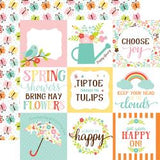 "Hello Spring Double-Sided Cardstock 12""X12"""
