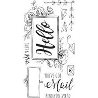 Sizzix Clear Stamps By Katelyn Lizardi - You've Got Mail
