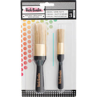 Vicki Boutin Mixed Media Stencil Brush Set  - All The Good Things