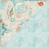 Sea-Maiden Double-Sided Cardstock 12
