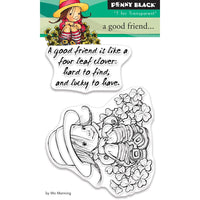 Penny Black Clear Stamps - A Good Friend