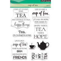 Penny Black Clear Stamps - Cup Of Tea