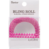 Bling On A Roll 4mmx1yd - Dark Pink