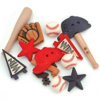 Dress It Up Embellishments - Baseball