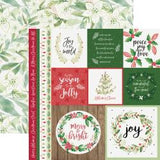 "Peace & Joy Double-Sided Cardstock 12""X12"" - Merry"
