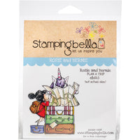 Stamping Bella Cling Stamps - Rosie & Bernie Plan A Trip