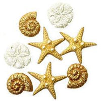 Dress It Up Embellishments - Glitter Beach