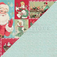 Jingle Double-Sided Cardstock 12