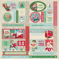 Jingle Jingle Cardstock Die-Cut Sheet 12