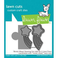 Lawn Cuts Custom Craft Die - Reveal Wheel Shooting Star Add-On