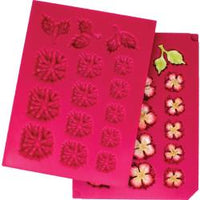 Heartfelt Creations Shaping Mold - 3D Blossoms oakberry