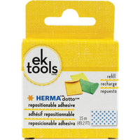 EK Tools HERMA Dotto Repositionable Adhesive Refill  49.2'