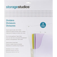 Storage Studios Tabbed Dividers - 12.13