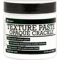 Ranger Texture Paste 4oz - Opaque Crackle