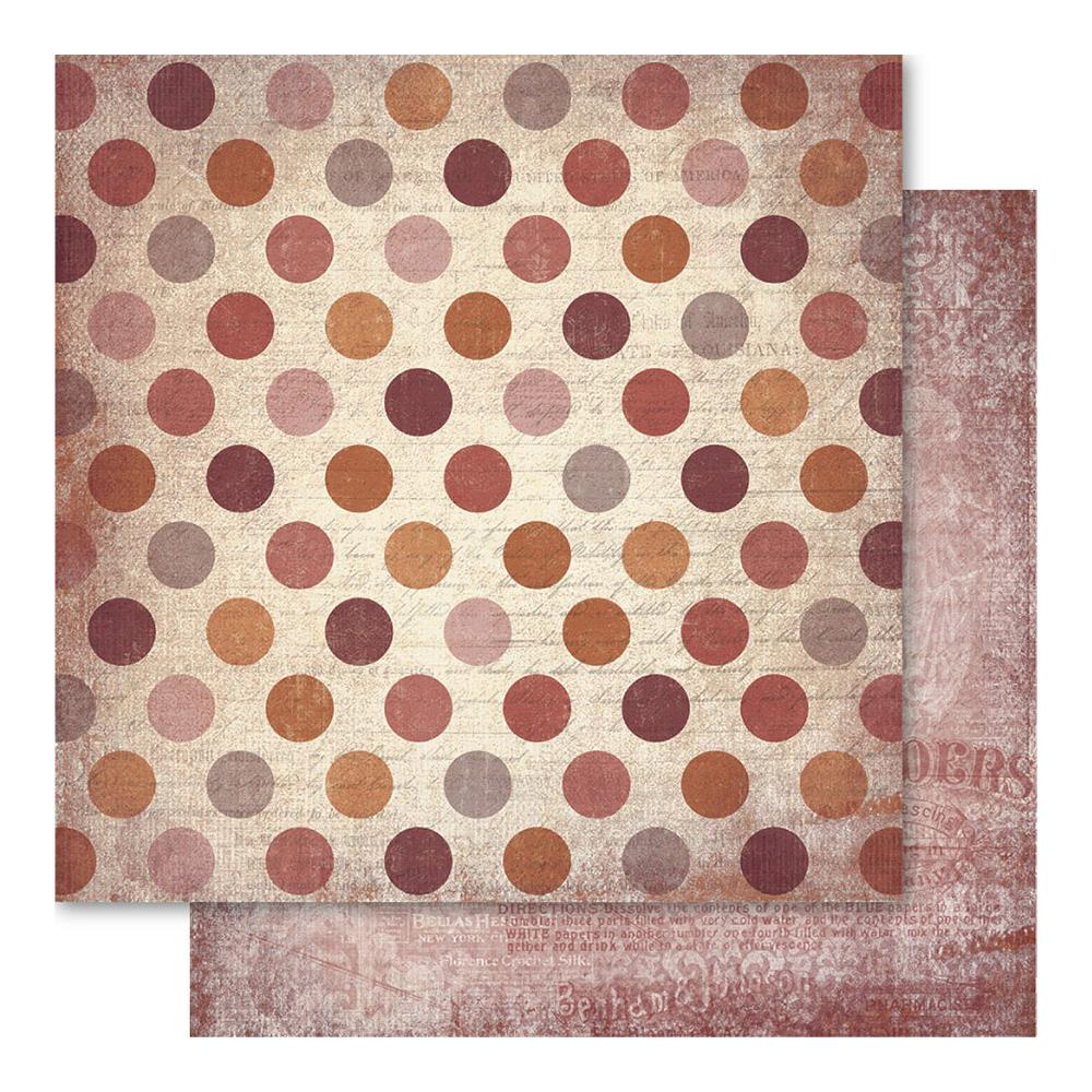 "Ruby Rock-It - Faded Empire - Dots 12""x12"""