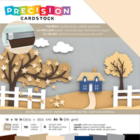 American Crafts Precision Cardstock Pack 80lb 12