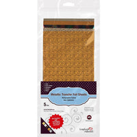 Scrapbook Adhesives Transfer Foil Sheets 6