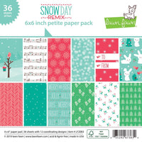 Lawn Fawn - Snow Day remox 6