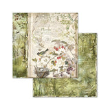 "Stamperia - Forest 8""x8"" Paper Pack - 10 Designs, 1 of Each"