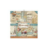 Stamperia - Around the World - Paper Pad 8