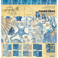 Graphic 45 - Collection Pack 12x12 - Ocean Blue