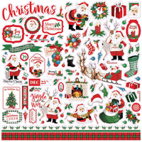Dear Santa - Cardstock Stickers 12