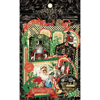Graphic 45 - Die Cut Assortment - Christmas Time