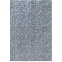 Sizzix - 3-D Textured Impressions - Tileable Pattern - Embossing Folder