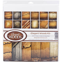 Reminisce Collection Kit - Elegant Woods